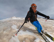 Saharan Sand and the Impact on Spring Ski Touring