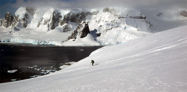 ski touring Antarctic