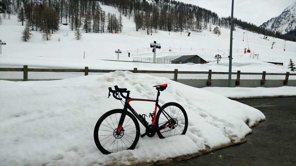 Road bike Montgenevre