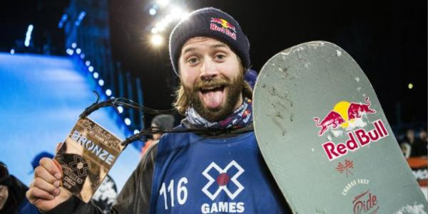 Billy's X Factor. Bronze medal for Billy Morgan at X Games