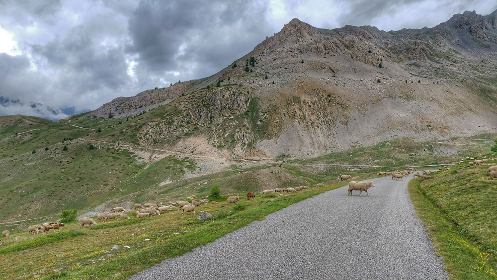 Col du Granon road bike climb