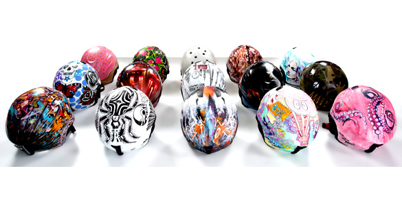 Invest in a helmet? Absolutely with these collectable works of art...