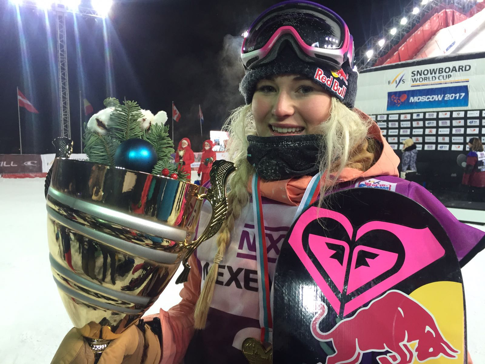 GB snowboarder WINS Big Air World Cup in Moscow