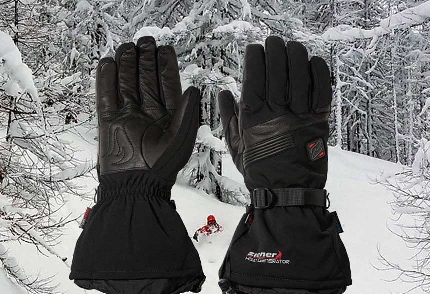 Ziener heated ski gloves