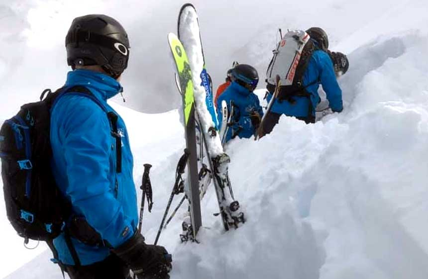 Chris Tomlinson Morzine Ski Project Skiing With Demons