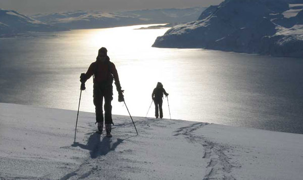 ski touring Lyngen Norway