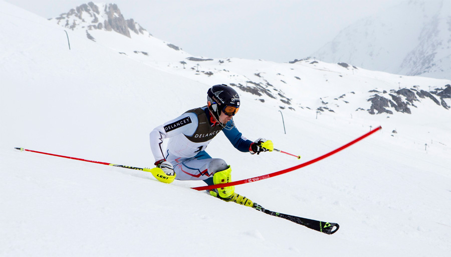It's epic Ski Sunday for Rocket Ryding in Kitzbuhel