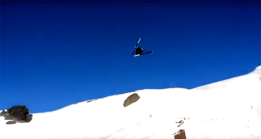 Jackson Wells Becomes First Skier to Land a Quad Cork