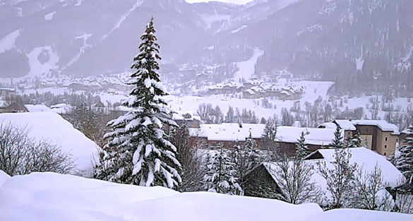 Serre Chevalier winter WebCam